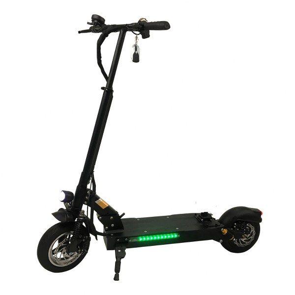 Trottinette E-scooter électrique Pliable moteur 1200w Autonomie 60 kms