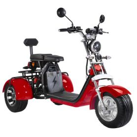 Citycoco Chopper 2000W 3 roues Double batterie 45 km/h