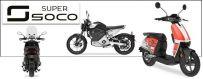 Super Soco : moto, scooter électrique & accessoires chez ICOOLWHEEL