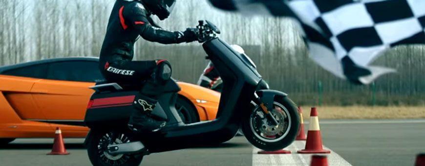 Scooter électrique équivalent 125 cc dernière génération •ICOOLWHEEL•