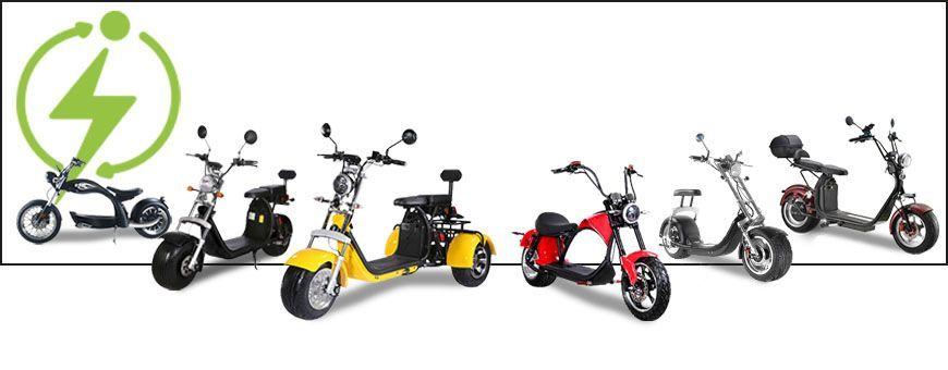 • Citycoco Electrique • Nouveau moyen de transport • ICOOLWHEEL.COM •